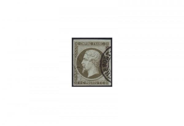 Frankreich Kaiserreich 1853 bis 1869 Michel Nr. 10 a gestempelt