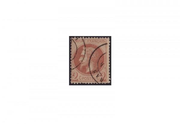 Frankreich Kaiserreich 1853 bis 1869 Michel Nr. 25 gestempelt