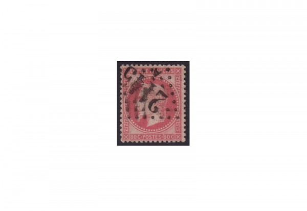 Frankreich Kaiserreich 1853 bis 1869 Michel Nr. 31 gestempelt