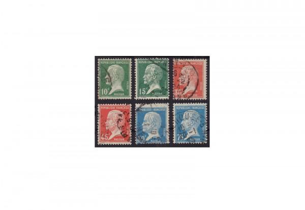 Frankreich Republik 1870 bis heute Michel Nr. 153 bis 158 gestempelt
