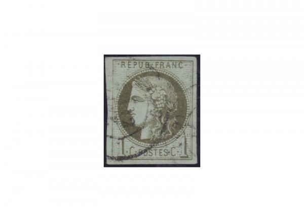 Frankreich Michel-Nr. 36 I gestempelt Republik 1870 bis heute