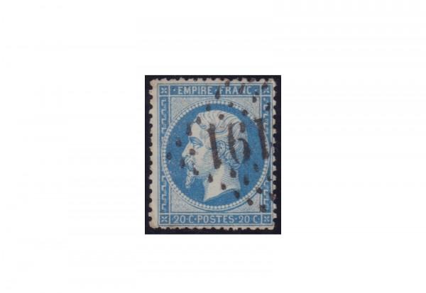 Frankreich Michel-Nr. 21 gestempelt Kaiserreich 1853-1869