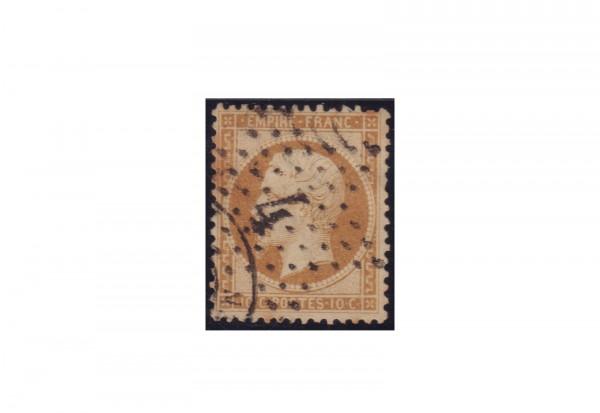 Frankreich Michel-Nr. 20 gestempelt Kaiserreich 1853-1869