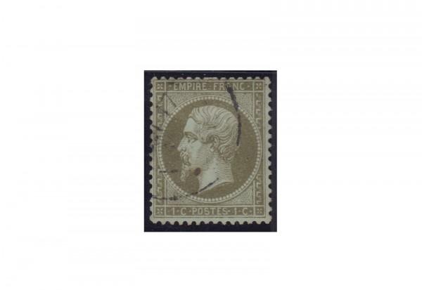 Frankreich Michel-Nr. 18 a gestempelt Kaiserreich 1853-1869