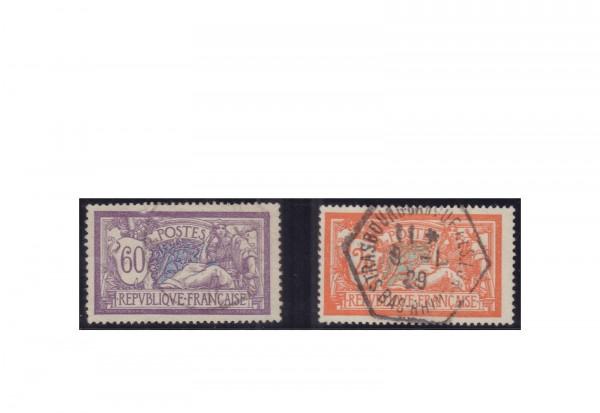 Frankreich Michel-Nr. 138/139 gestempelt Republik 1870 bis heute