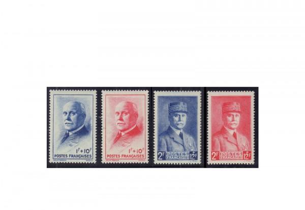 Frankreich Michel-Nr. 581/584 gestempelt Republik 1870 bis heute