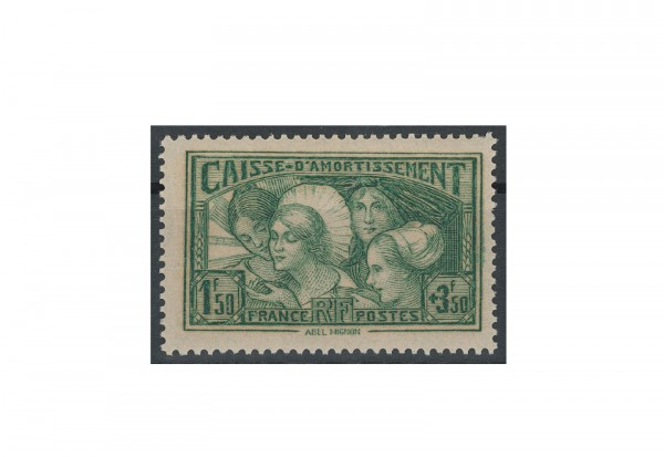 Briefmarke Frankreich Staatsschuldentilgungskasse 1931 Michel-Nr. 261 gestempelt