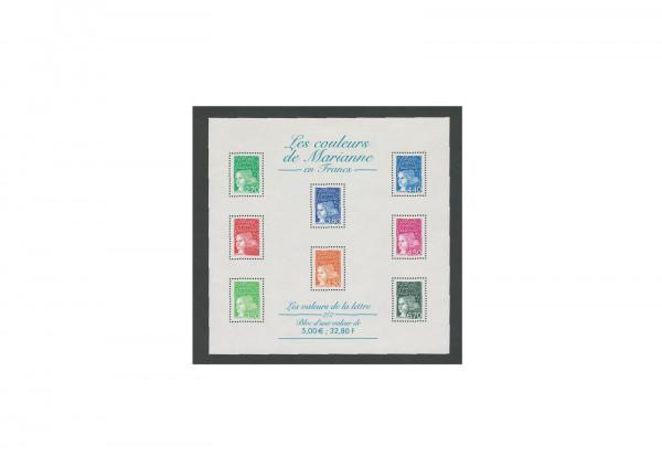 Briefmarken Frankreich Marianne 2001 Michel-Nr. 3225-3243 Kleinbogen postfrisch