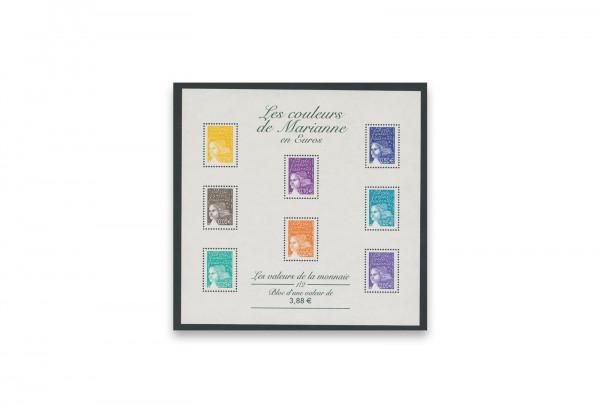 Briefmarken Frankreich Marianne 2004 Michel-Nr. 3579-3593 Kleinbogen postfrisch