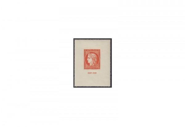 Frankreich CITEX 1849 bis 1949 Michel Nr. Block 4 gestempelt