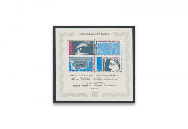 Briefmarken Frankreich Arphila 1975 Block 5 gestempelt