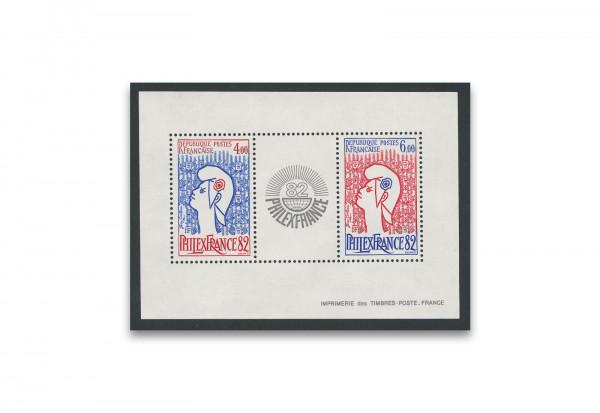 Briefmarken Frankreich Philexfrance 1982 Block 6 postfrisch