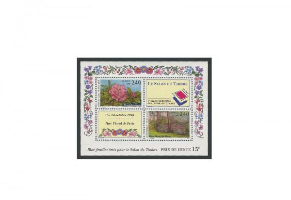 Briefmarken Frankreich Internationale Briefmarkenausstellung 1993 Block 13 gestempelt