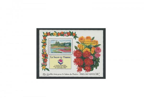 Briefmarken Frankreich Salon du Timbre 1994 Block 14 postfrisch