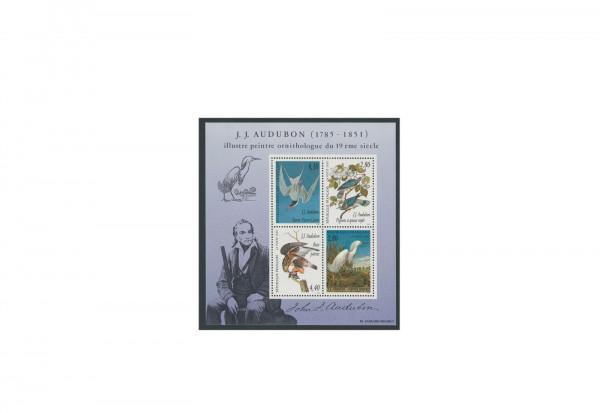 Briefmarken Frankreich Dekorative Kunst 1995 Block 16 postfrisch