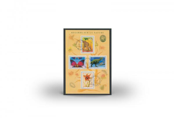 Briefmarken Frankreich Nationales Naturhistorisches Museum 2000 Block 23 gestempelt