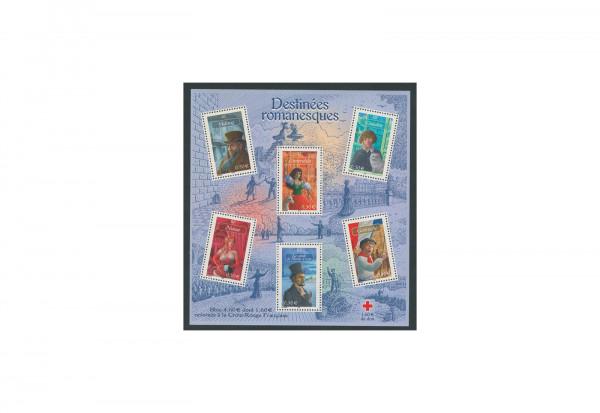 Briefmarken Frankreich Romanfiguren 2003 Block 33 postfrisch