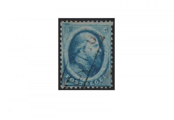 Niederlande Freimarken König Willem III 1864 Michel Nr. 4 gestempelt