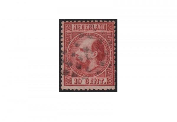 Niederlande Freimarken König Willem III 1867 bis 1870 Michel Nr. 8 gestempelt