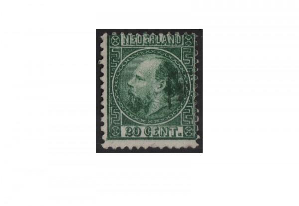 Niederlande Freimarken König Willem III 1867 bis 1870 Michel Nr. 10 gestempelt