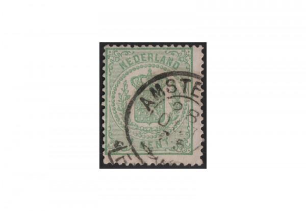 Niederlande Willem III. 1869/1871 Michel-Nr. 15 gestempelt