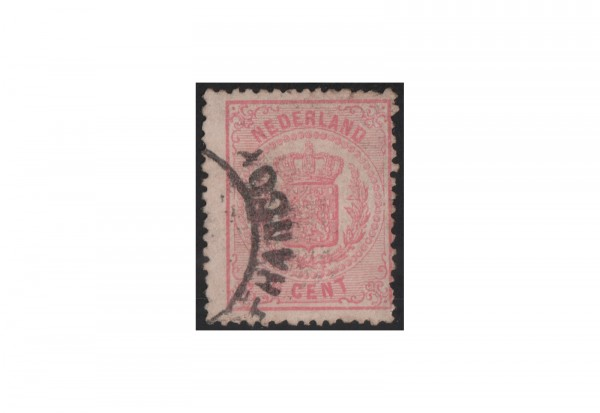Niederlande Willem III. 1869/1871 Michel-Nr. 16 gestempelt