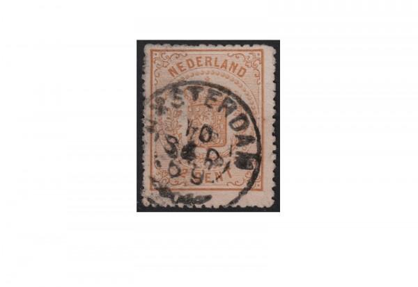 Niederlande Willem III. 1869/1871 Michel-Nr. 17 gestempelt