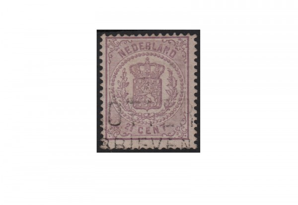 Niederlande Willem III. 1869/1871 Michel-Nr. 18 gestempelt