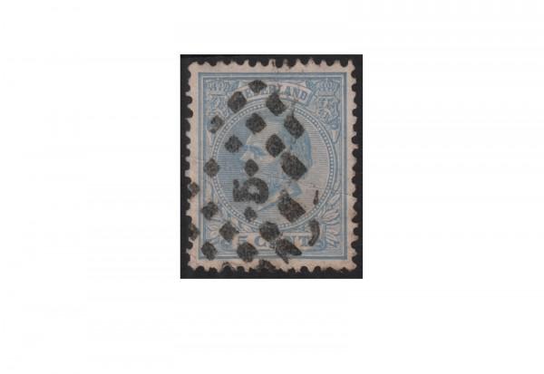 Niederlande Willem III. 1872/1888 Michel-Nr. 19 gestempelt