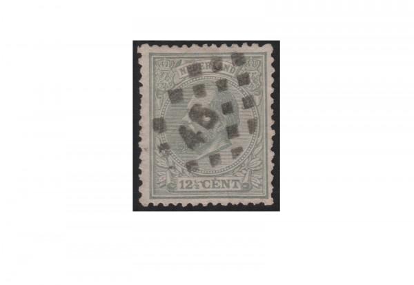Niederlande Willem III. 1872/1888 Michel-Nr. 22 gestempelt