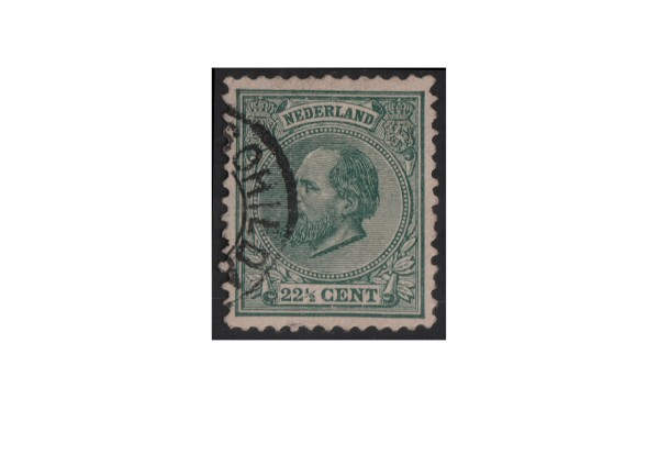 Niederlande Willem III: 1872/1888 Michel-Nr. 25 gestempelt