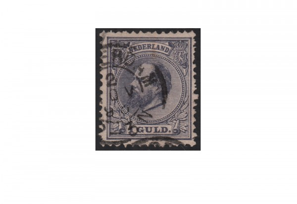 Niederlande Willem III. 1872/1888 Michel-Nr. 28 gestempelt