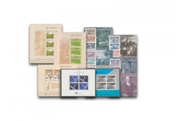 Briefmarken Portugal CEPT 43 Blocks postfrisch im Einsteckbuch