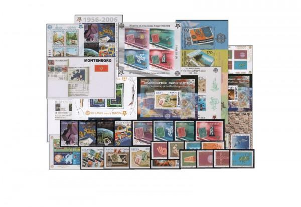 Europa Qualitäts-Lot postfrisch 24 Blocks + 14 Sätze 1956-2006