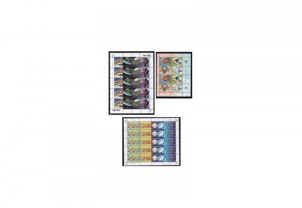 Briefmarken CEPT Zusammendrucke postfrisch auf 6 Steckkarten