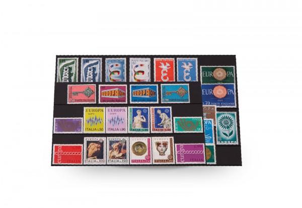 Briefmarken Italien CEPT 1956-1976 postfrisch