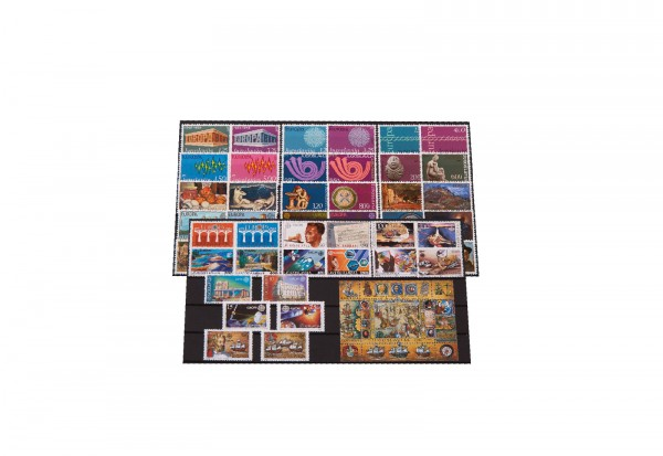 Briefmarken und 1 Block Jugoslawien CEPT 1962-1992 postfrisch