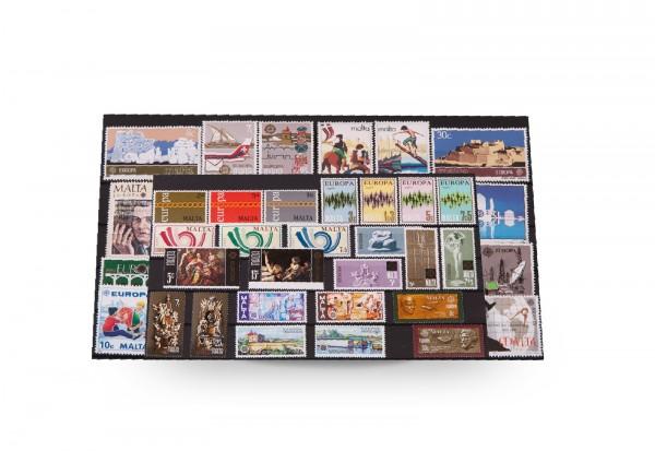 Briefmarken Malta CEPT 1971-1992 postfrisch