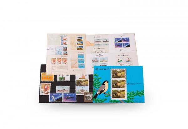 Briefmarken und 11 Blocks Azoren CEPT 1981-1992 postfrisch