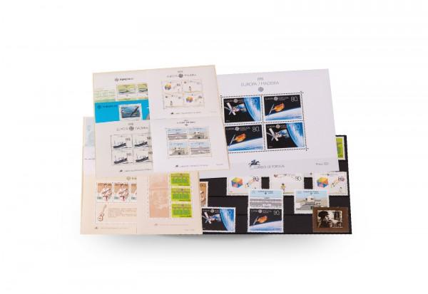 Briefmarken und 11 Blocks Madeira CEPT 1981-1992 postfrisch