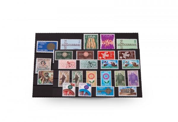 Briefmarken Spanien CEPT 1960-1976 postfrisch