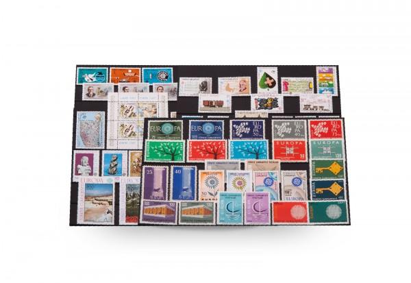Briefmarken und 1 Block Türkei CEPT 1958-1992 postfrisch