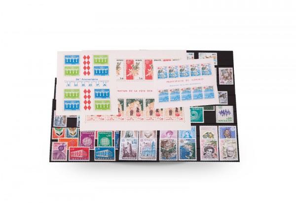 Briefmarken und 19 Blocks Monaco CEPT 1962-1992 postfrisch