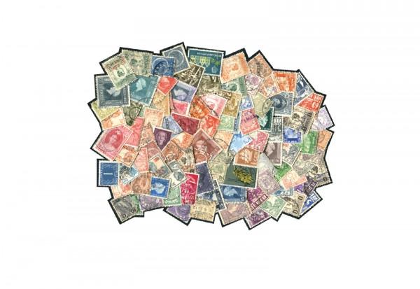 Briefmarken Niederländische Kolonien 100 Marken postfrisch und gestempelt