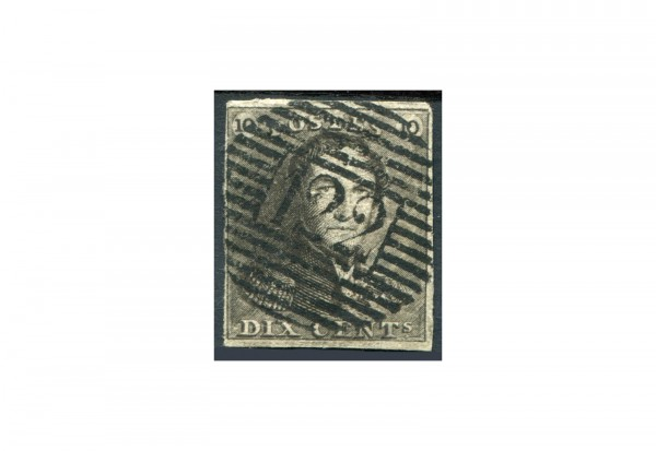 Belgien Leopold I. 1849 Michel-Nr. 1 gestempelt