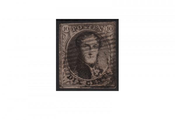 Belgien Leopold I. 1851/1854 Michel-Nr. 3 B gestempelt