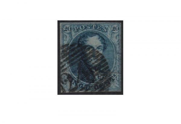 Belgien Leopold I. 1849/1850 Michel-Nr. 4 A gestempelt