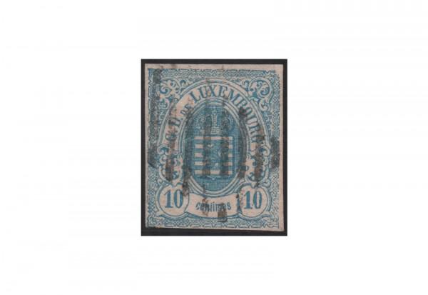 Luxemburg Staatswappen 1859/1863 Michel-Nr. 6 gestempelt