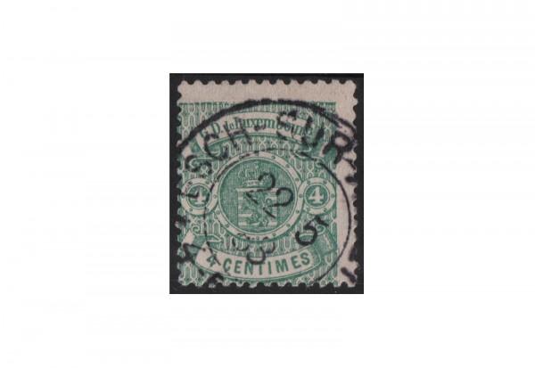 Luxemburg Staatswappen 1875/1879 Michel-Nr. 29 gestempelt