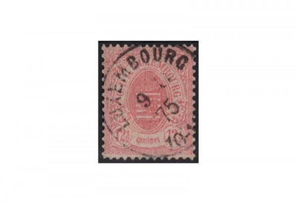Luxemburg Staatswappen 1875/1879 Michel-Nr. 32 a gestempelt
